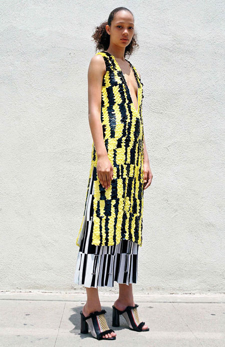 Dress by Proenza Schouler Pre-Spring 2017 | Lovika