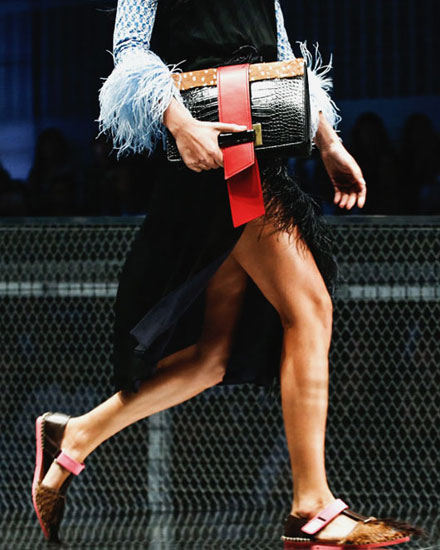 LOVIKA | Prada clutch bags #SS17