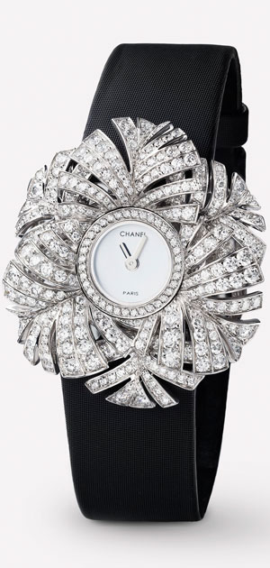 Chanel Jeweled Watch | Lovika #LesFiguresLibres