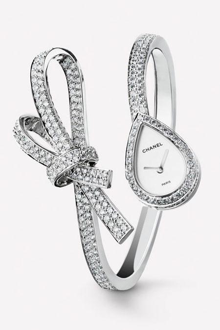 Chanel Jeweled Watch   Lovika #LesFiguresLibres