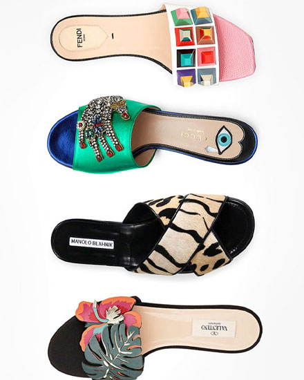 32 Beautiful Designer Slides That You Will Want to Wear Everyday