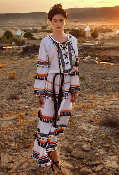 Dodo Bar Or Pre-Spring 2017 Lookbook | Lovika #Resort #Collection