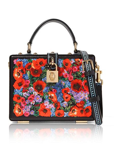 Dolce & Gabbana Floral Box Bag | Lovika