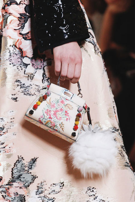 Fendi Micro Bags | Lovika #SS17 #Runway