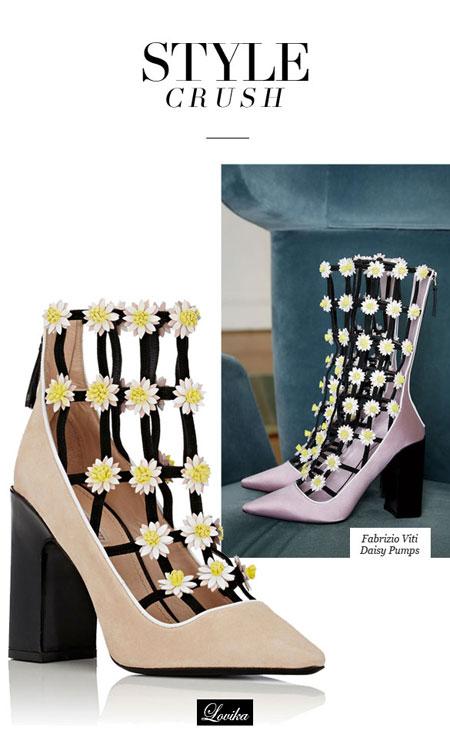 Lovika Style Crush: Fabrizio Viti Daisy Pump