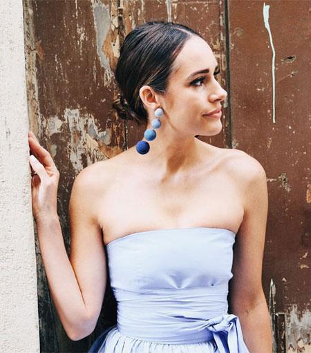 Style Crush - Rebecca de Ravenel Drop Earrings   Lovika