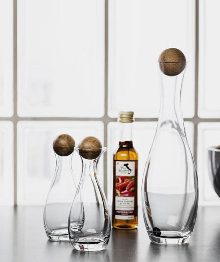 Sagaform Oak Stopper Barware | Lovika