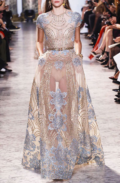 85 Stunning Gowns from Spring 2017 Haute Couture   Lovika featuring Elie Saab