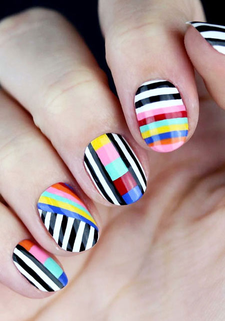 50 Must-Try Nail Art Ideas for Spring | Lovika #simple #bright
