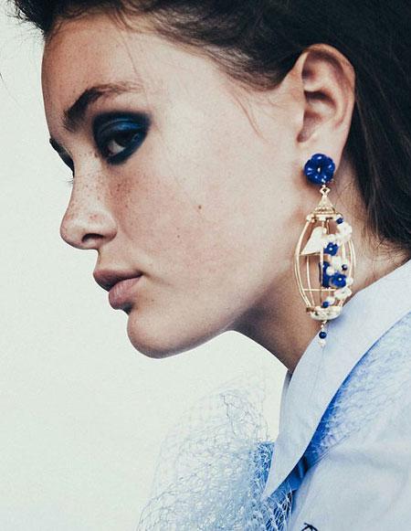 Birdcage Earrings - Chanel or Of Rare Origin? | Lovika