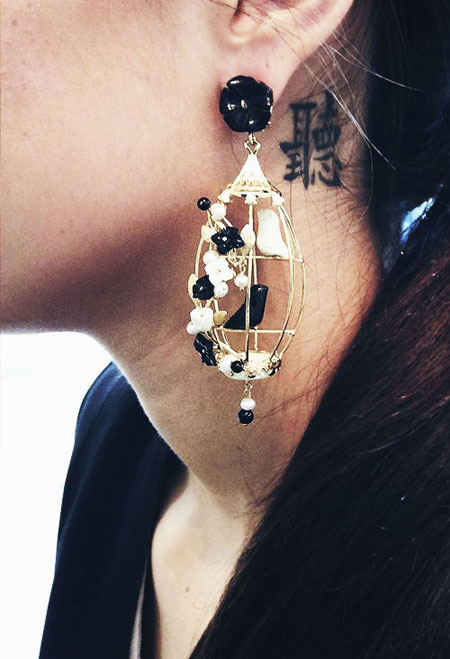Lovika Style Crush - Of Rare Origin Birdcage Earrings