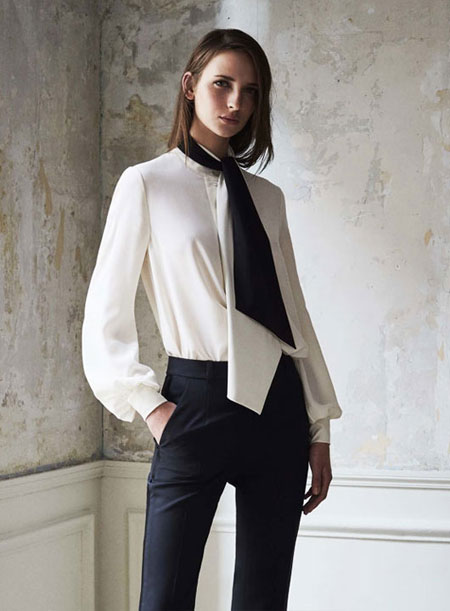 10 Chic Work Outfit Ideas for Women from Pre-Spring 2017 Lookbook | Lovika