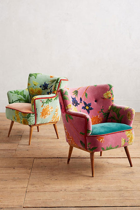 Pretty accent chairs | Lovika #interior #design #decor