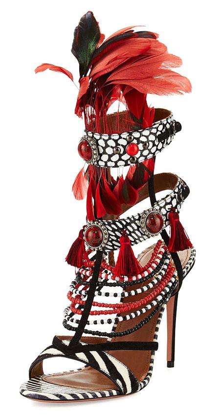 Aquazurra Madagascar Shoes | Lovika