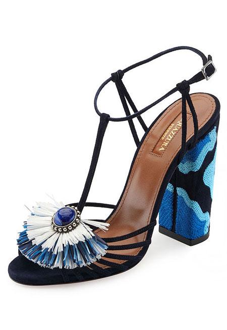 Aquazurra Samba Sandal | Lovika #shoes