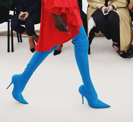 Style Highlight: Eclectic Boots at Balenciaga | Lovika #runway #ss17