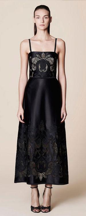 50 Best Black Dresses from Spring-Summer 2017 Runway   Lovika #LBD