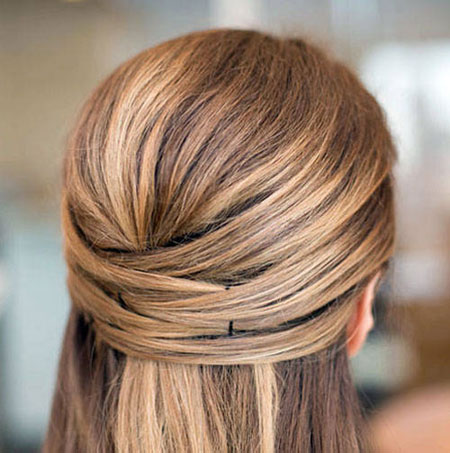 15 Easy bobby pins hairstyles for Long Hair | Lovika #chic #easy