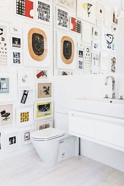 Interior Inspiration: Gallery Wall Decorating Ideas | Lovika