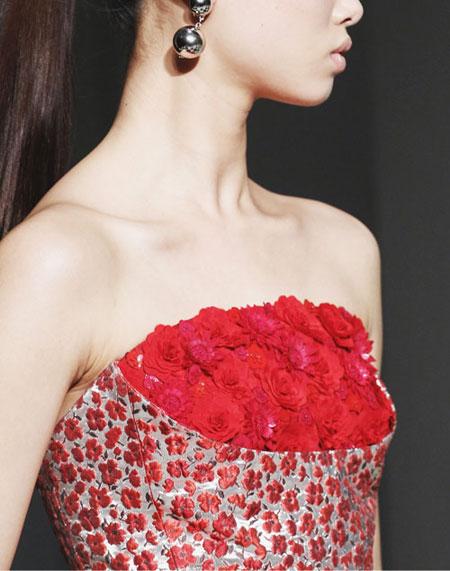 Oscar de la Renta Fall-Winter 2017 Runway | Lovika #evening #gowns