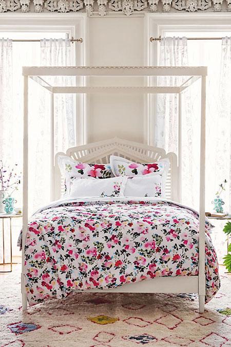 spring bedroom interior design | Lovika