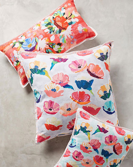 spring floral pillows | Lovika