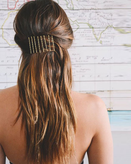 15 Easy Bobby Pin Hairstyles that are Actually Pretty