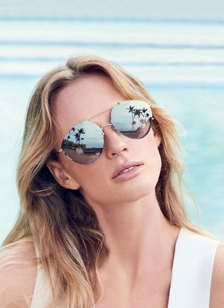 Balenciaga mirrored aviator sunglasses | Lovika #designer #sunglasses