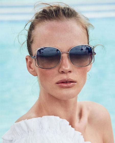 Roberto Cavailli oversized square sunglasses | Lovika #designer #sunglasses