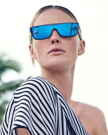 Valentino Glamgloss Mirrored Sunglasses | Lovika #Designer #Sunglasses
