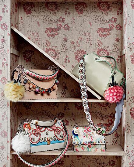 Fendi handbags Spring-Summer 2017 | Lovika #runway #bags