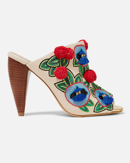 Lovika List: Tory Burch Ellis Mules #shoes #heels