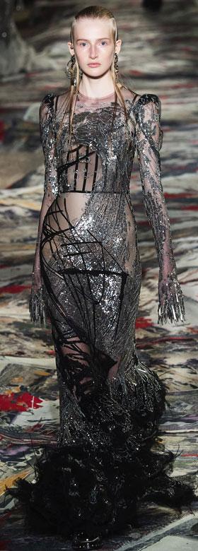 Alexander McQueen Gowns Spring-Summer 2017 | Lovika #Runway #SS17