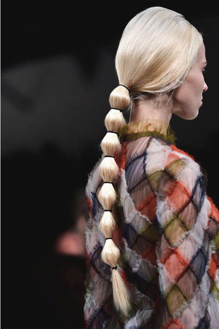 Easy ponytail hairstyles for long hair #fancy
