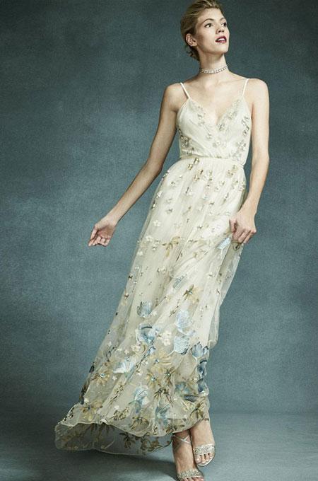 Spring Floral Evening Gowns 2017 | Lovika #lookbook #dresses