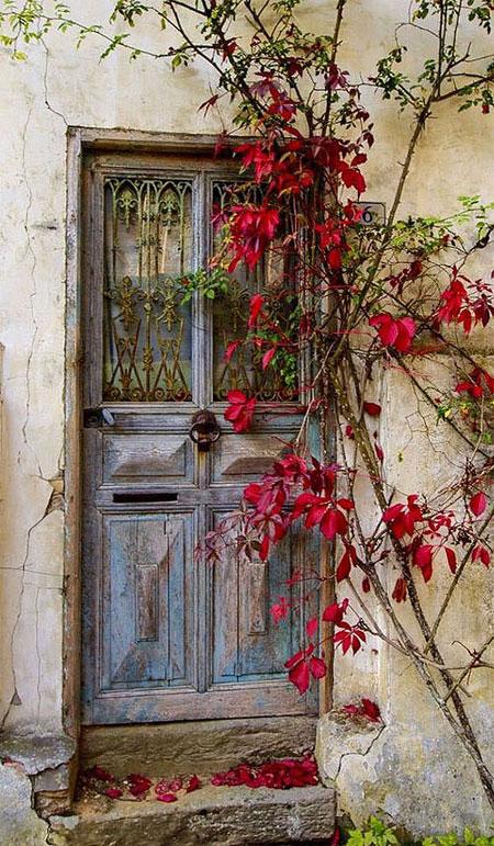 Color Inspiration 25 Magical Doors