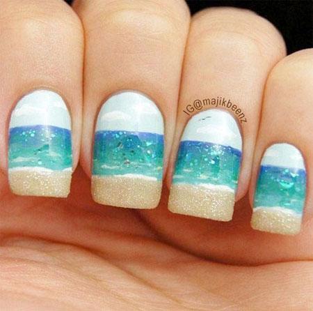 60 Best summer nail designs | Lovika #nails #art #colors