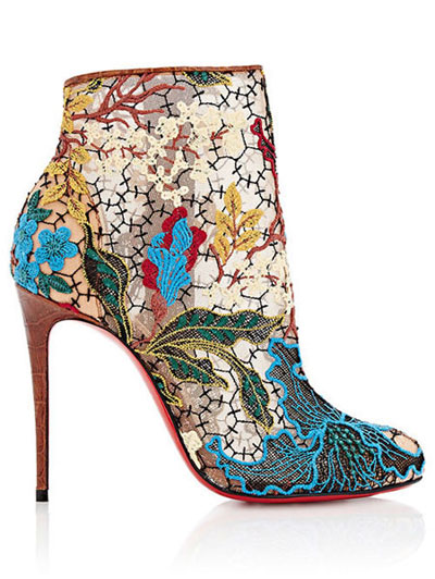 Christian Louboutin pre-fall 2017 ankle boots | LOVIKA #bootie