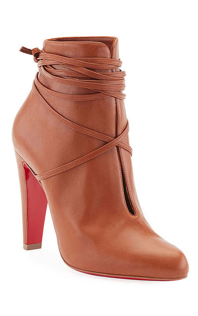 0707669a209 S.I.T. Rain 100 Leather Booties. Christian Louboutin pre-fall 2017 ankle  boots