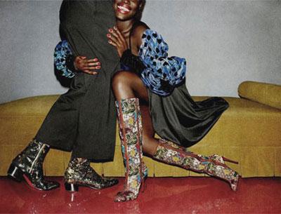 Christian Louboutin pre-fall 2017 shoes | LOVIKA #boots