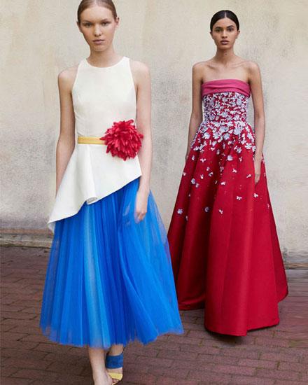 LOVIKA | Carolina Hererra dresses from pre-spring 2018 editorial lookbook