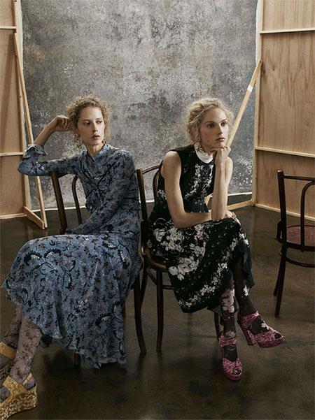 LOVIKA | Erdem Pre-fall 2017 Dresses #lookbook #fashion #editorials