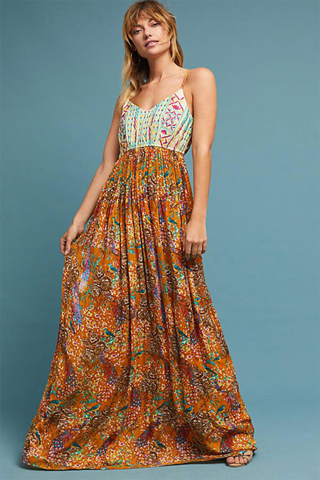 a2e1dfcfc150c LOVIKA | 5 Lovely Autumn maxi dresses from Anthropologie dress sale #fall