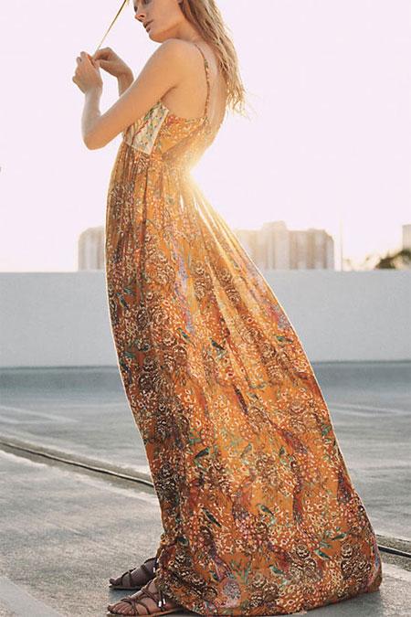 LOVIKA | 5 Lovely Autumn maxi dresses from Anthropologie dress sale #fall