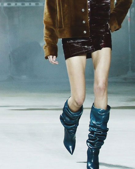 LOVIKA | Fashion trends - slouchy boots #runway #fall #winter