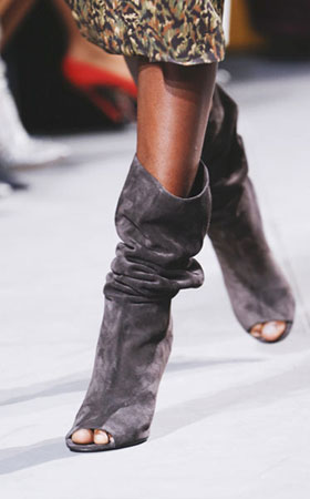 LOVIKA | Slouchy boots fashion trends - fall winter 2017 #runway #style #report