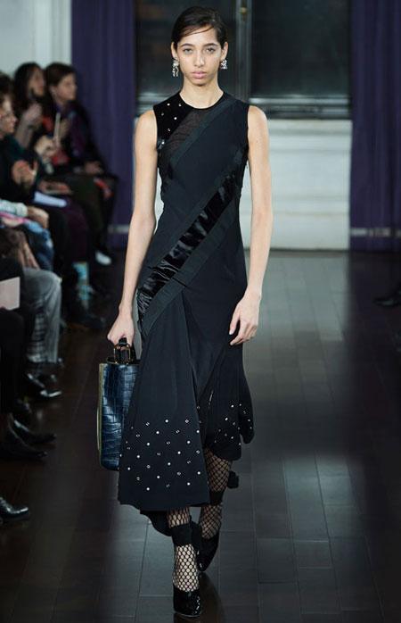 LOVIKA | Jason Wu LBDs #black #dresses #runway