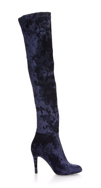 LOVIKA | Jimmy Choo Toni over-the-knee velvet boots