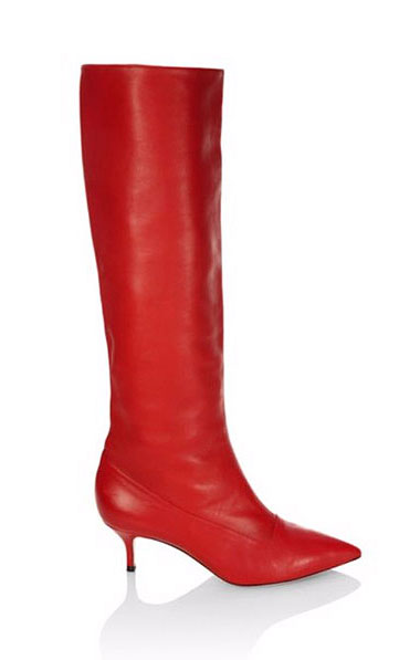 LOVIKA | Paul Andrew leather slouchy red boots