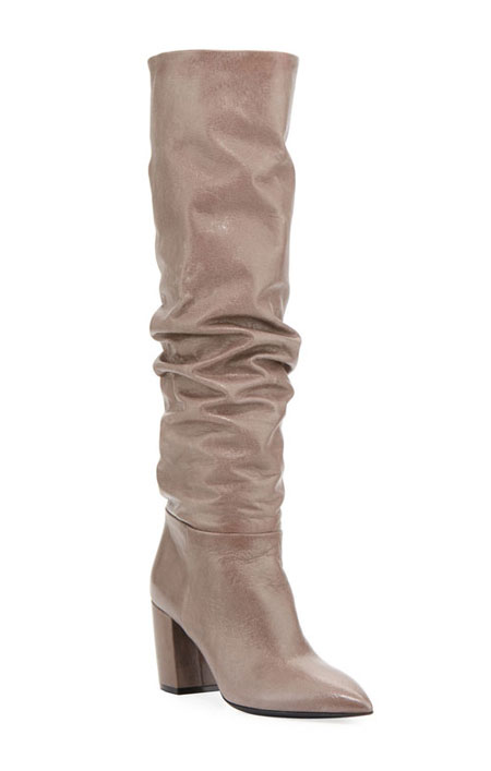 LOVIKA | Prada Scrunch leather boots